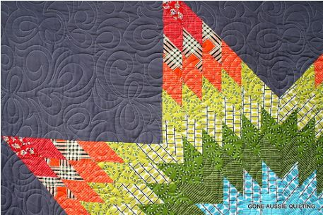 Quilt with Star Pattern